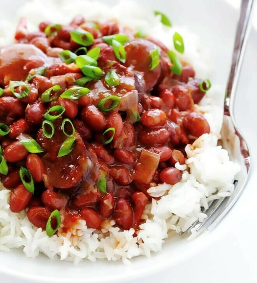 Warming: Red Beans and Rice