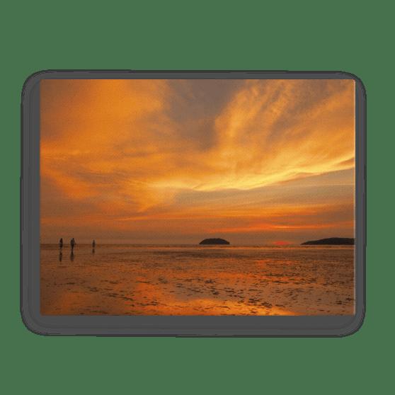 Sabah Sunset Fine Art Poster
