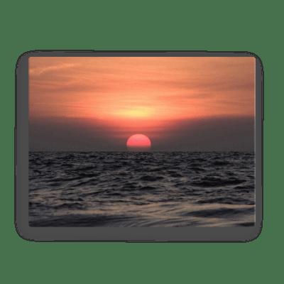 Beejadi Sunset Canvas Print