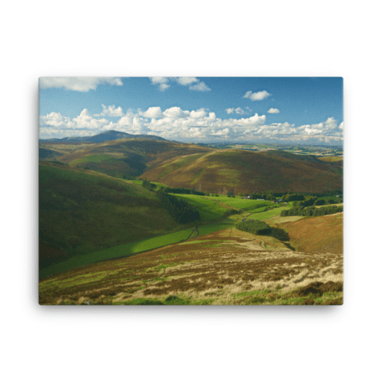 Southern Uplands Canvas Print