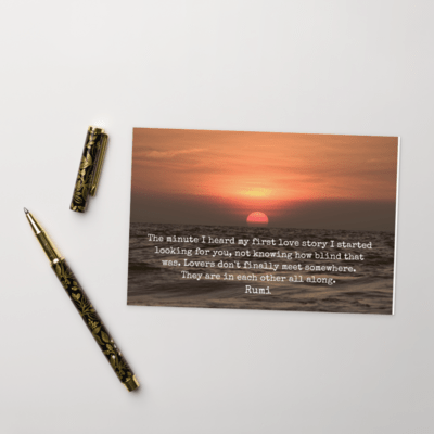Rumi Postcards from the Heart #5