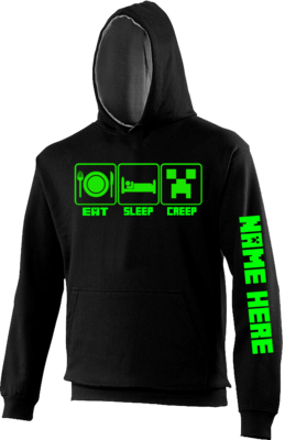 Eat Sleep Creep Kids hoodie