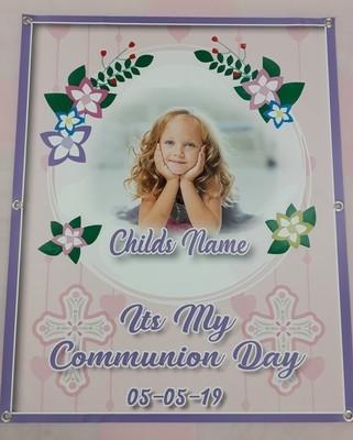 Communion hooped Banner