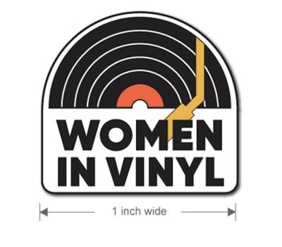 Women in Vinyl Enamel Pin