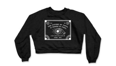 Limited Edition! Women in Vinyl Future of Vinyl Ouija Tee (Women's Cropped)