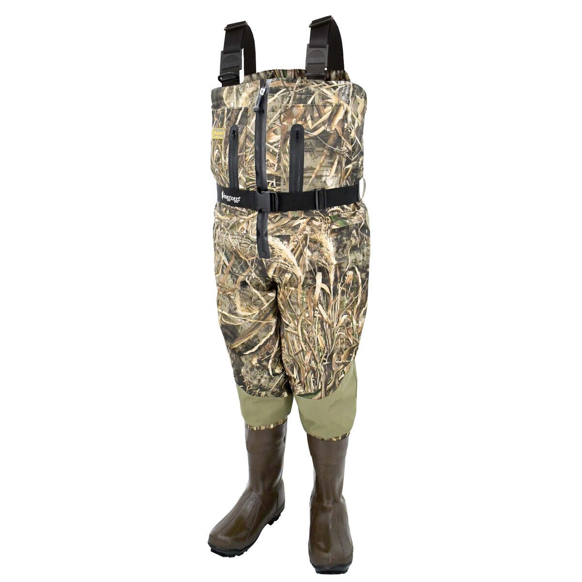 Men's Grand Refuge 2.0™ Zip Front Wader in Realtree™ MAX-5® Size 9