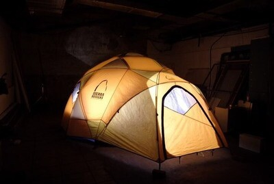 SIERRA DESIGNS MOTHERSHIP 8 幻のドームテント