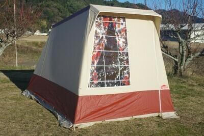 フランス製 Cabanon キャバノン EVELYN2 二人用ロッジテント ソロテントにも