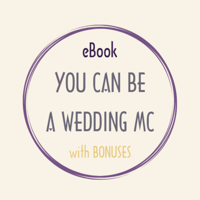 eBook pdf YOU CAN BE A WEDDING MC bonus