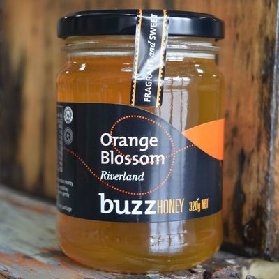 Orange Blossom Honey 320g Glass Jar