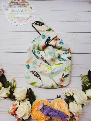 Boho Chic Japanese Knot bag