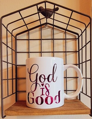 God is Good Coffee Mug