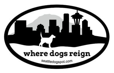"""Where Dogs Reign"" Sticker"