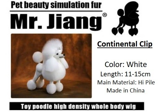 Poodle Continental Wig