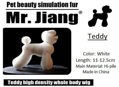 Teddy Body Wig - White