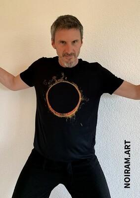 T-shirt Eclipse noir