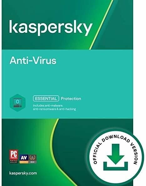 Kaspersky Antivirus 1 PC - ESD