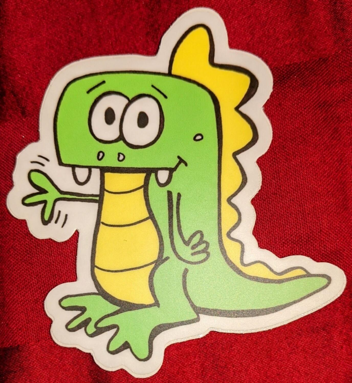 Tiny Dragon Sticker