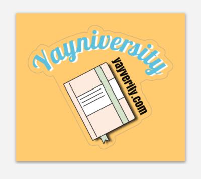 Yayniversity Sticker