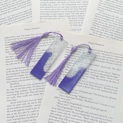 MINI Purple and Silver Bookmark