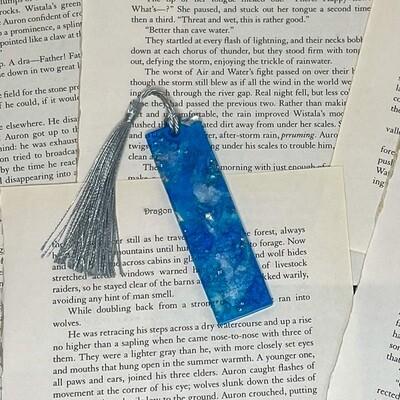 MINI Blue and Silver Bookmark