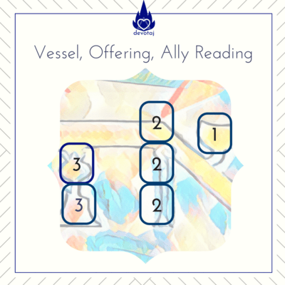 Reading: Vessel, Offering, Ally