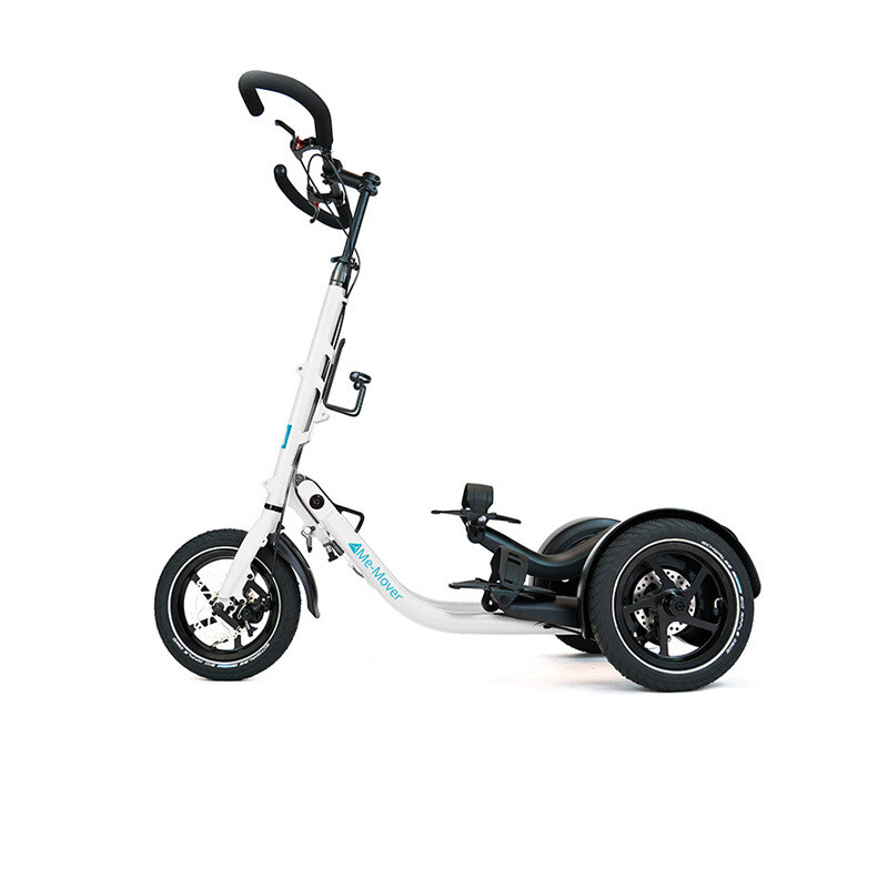 Me-Mover Fit 2.3 - Pearl White (weiß)  -                                        Faltbarer 3 Rad Fitness Stepper mit 12 Zoll Bereifung