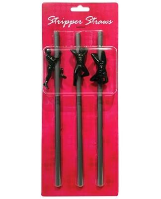 Groom To Be Stripper Straws