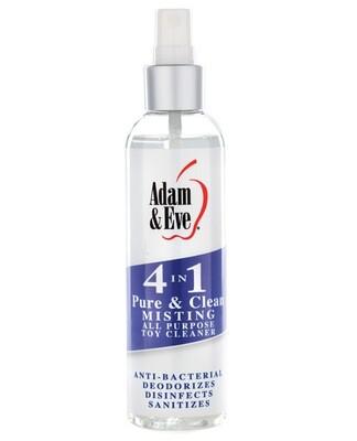 Adam & Eve 4 In 1 Pure & Clean Misting Cleaner