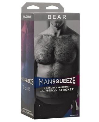 Man Squeeze Bear Ass - Flesh