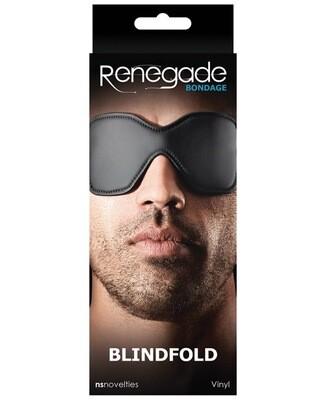 Renegade Bondage Blindfold - Black