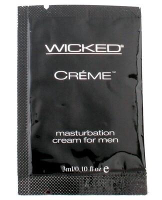 Wicked Sensual Care Creme Masturbation Cream For Men - .1 Oz