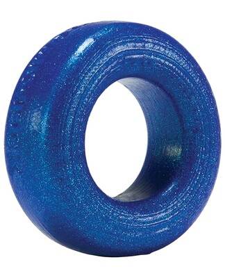 Oxballs Silicone Cock T Cock Ring - Blueballs