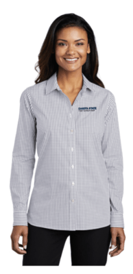 DSU Fac - Port Authority ® Ladies Broadcloth Gingham Easy Care Shirt