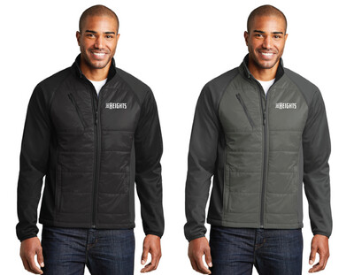 The Heights - Port Authority® Hybrid Soft Shell Jacket