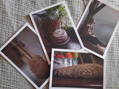 Lot de 4 cartes postales
