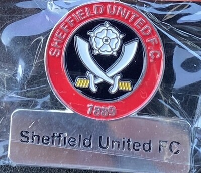 Sheffield United FC (England) Logo and Name Pin Badge
