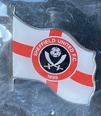 Sheffield United FC (England) Logo with England Flag