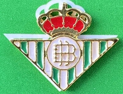 Betis Sevilla (Spain) Official Pin Badge Gold