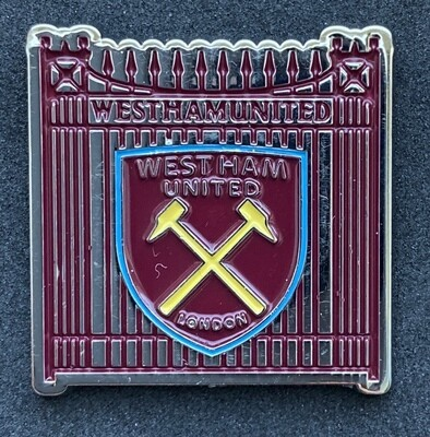 West Ham United (England) Gates Pin Badge