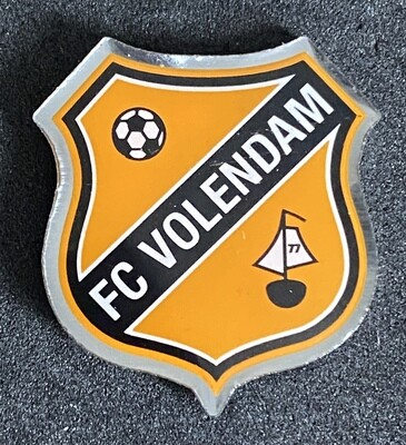 FC Volendam (Netherlands) Logo New Pin Badge