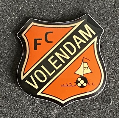 FC Volendam (Netherlands) Logo Old Pin Badge