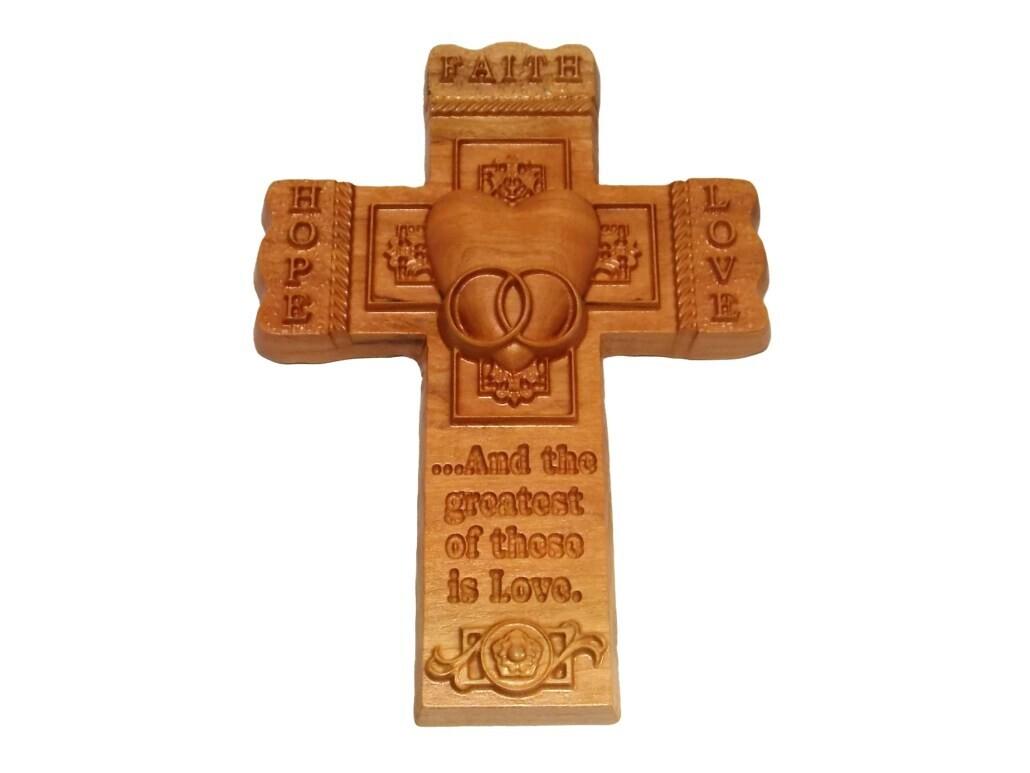 Faith Hope Love Cross