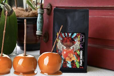 Cinn-ful Caramel Apple Swiss Water Decaf Artisan Roasts Flavored Coffee {Seasonal Roast}