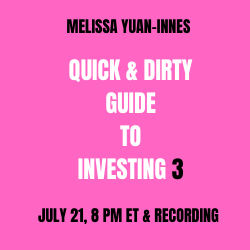 Quick & Dirty Guide to Investing, Part 3