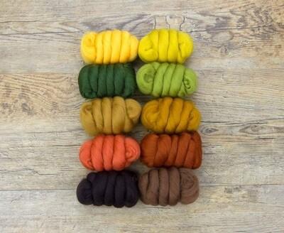 23m Merino 10 Colour Pack - Autumn