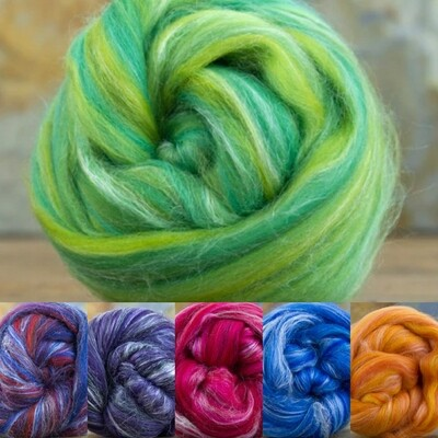 Merino/Tussah Silk 25g minis - 23m - 70/30