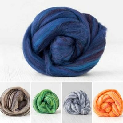 Merino/Tussah Silk - 19m - 70/30 - DHG