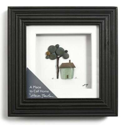 A Place to Call Home, Sharon Nowlan Pebble Art