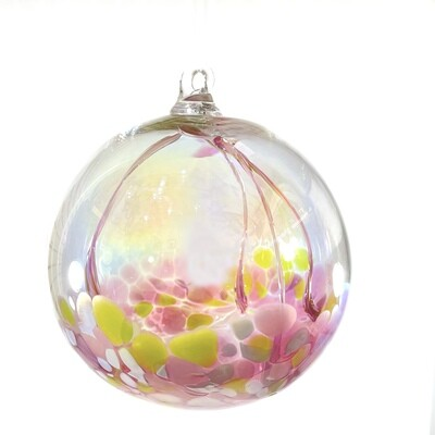 Handmade Glass Fairy Ball